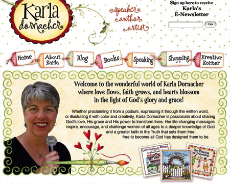 Karla's New Website