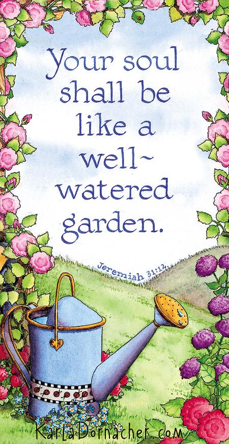 Wellwateredgarden
