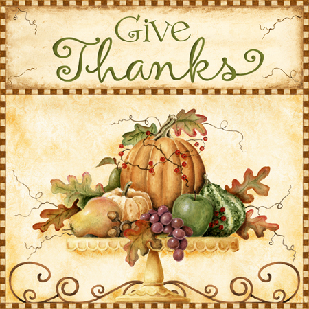 Autumn Give Thanks