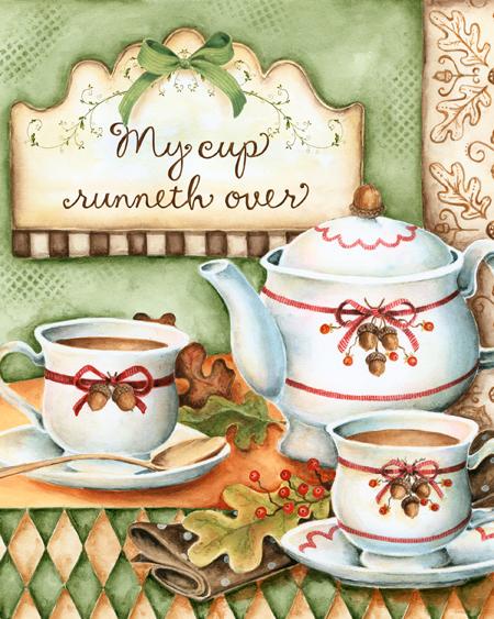 Autumn Tea 8x10