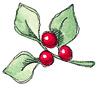 Dove leaf