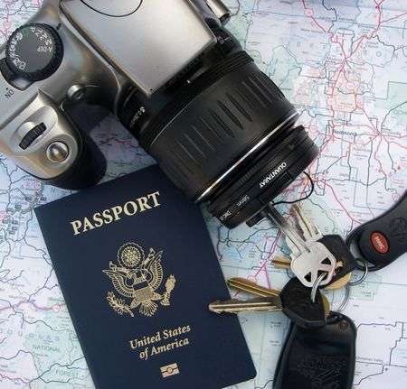 Camera and passport