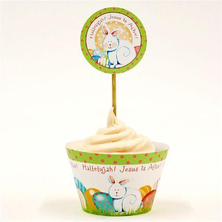 Single Easter Cupcake