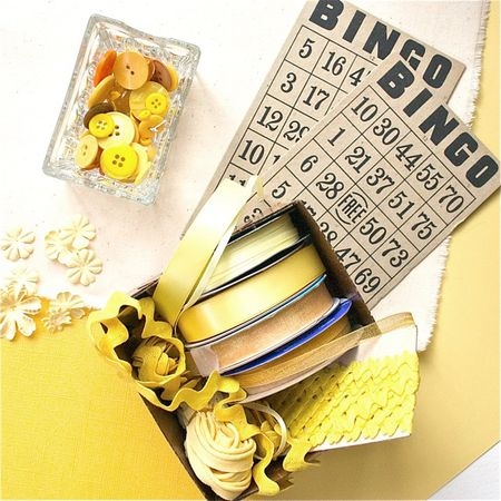 Yellow Ribbons & Buttons