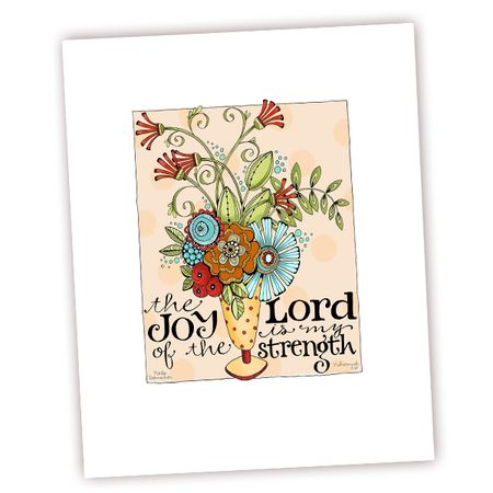 Joy of the Lord Art Print Etsy
