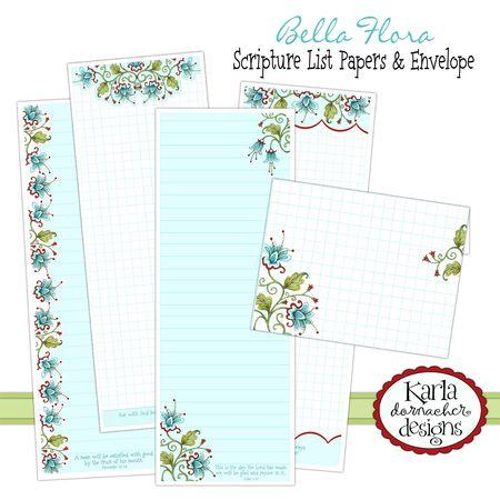 Bella Flora Lists & Env Etsy