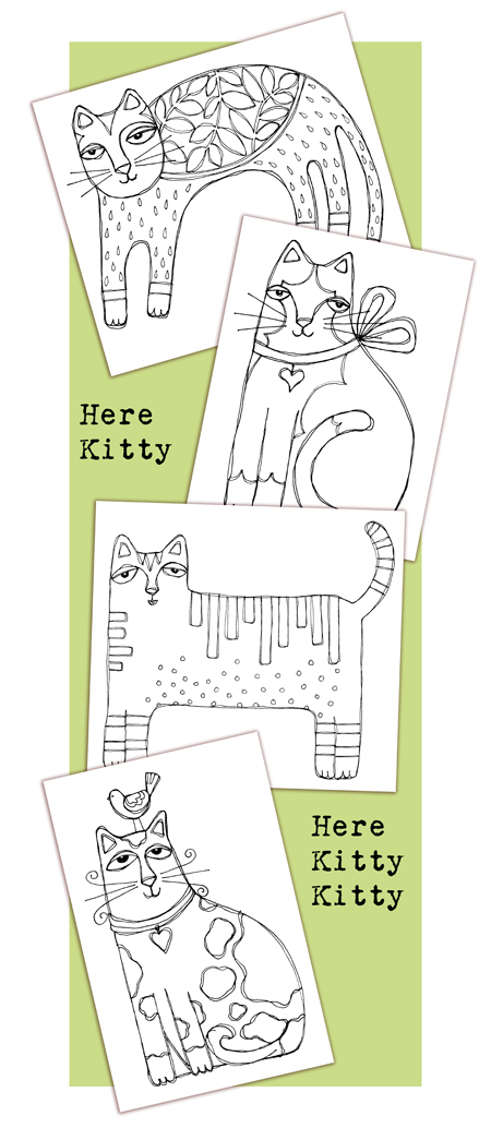 Here Kitty Kitty Blog