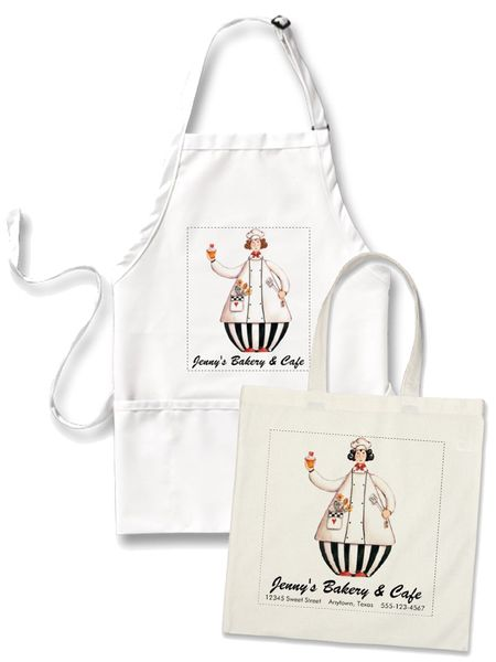 Chef Girl Tote Apron