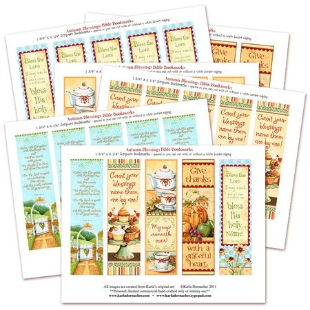 KD AB Bible Bookmark Collection