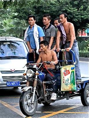 Pack Em In on Bike