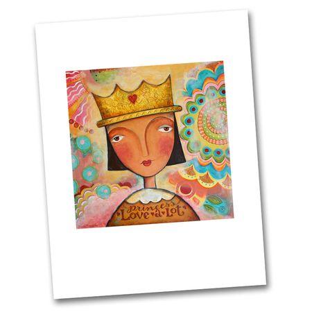 Princess Love-a-Lot Print