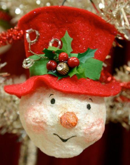 Snowman ornament 04