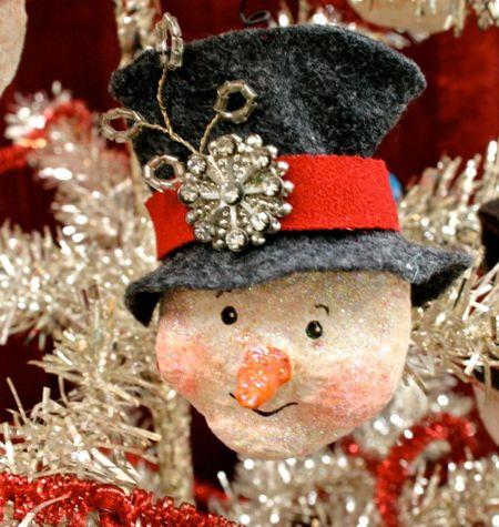 Snowman ornament 02