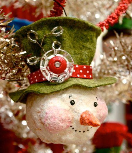 Snowman ornament 03