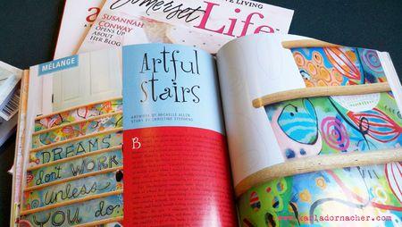 Michelle Allen Stairs Somerset Magazine