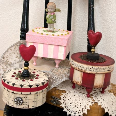 Painted Treasure Boxes