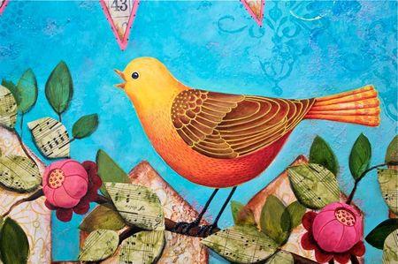 Banner of Love Bird