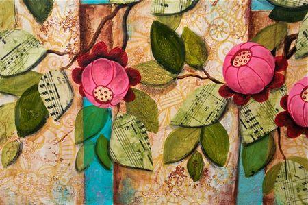 Banner of Love Flowers
