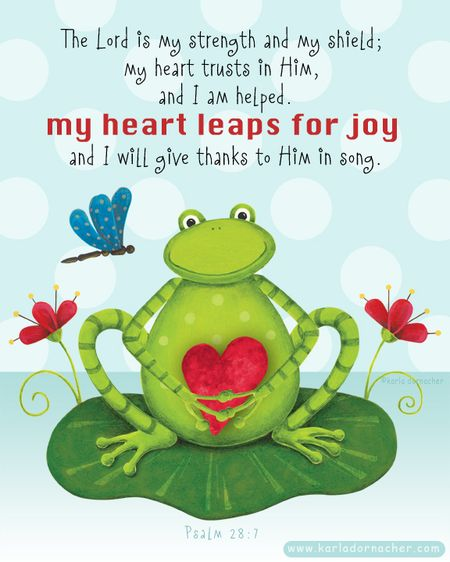 Frog Leap for Joy