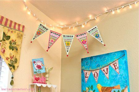 Bingo Banner Hanging