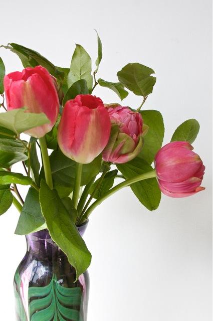 Tulip peony bouquet