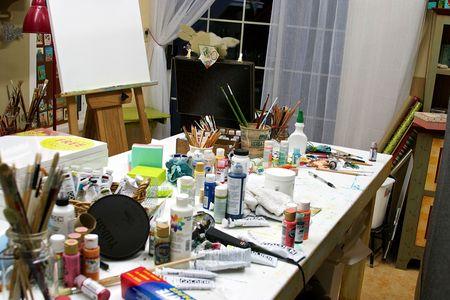 Messy studio 2