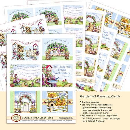 Garden #2 Blessing Cds Etsy