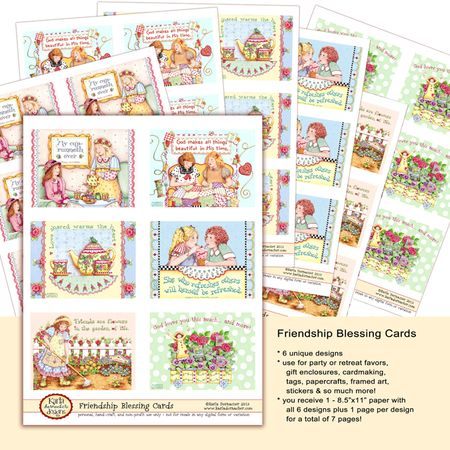 Friendship Blessing Cds Etsy copy