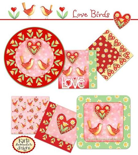 LoveBirds PartyWare