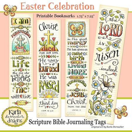 01 Easter Bookmarks Etsy