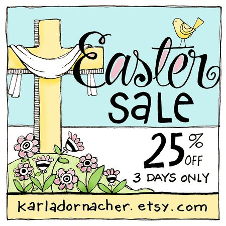 Easter2015EtsySale