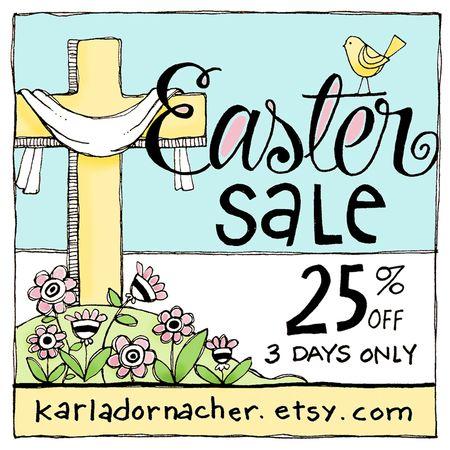 Easter2015EtsySale
