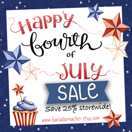 4th of July Sale 2016