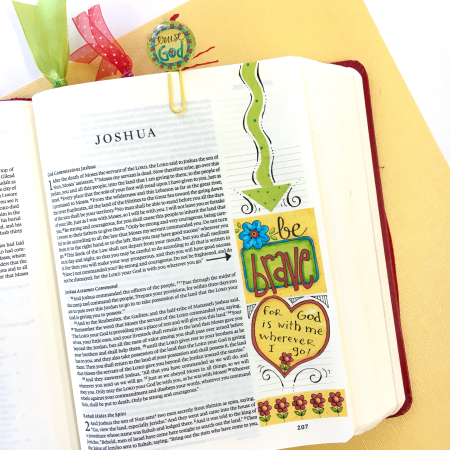 Word Art Bible Journal Pg 2
