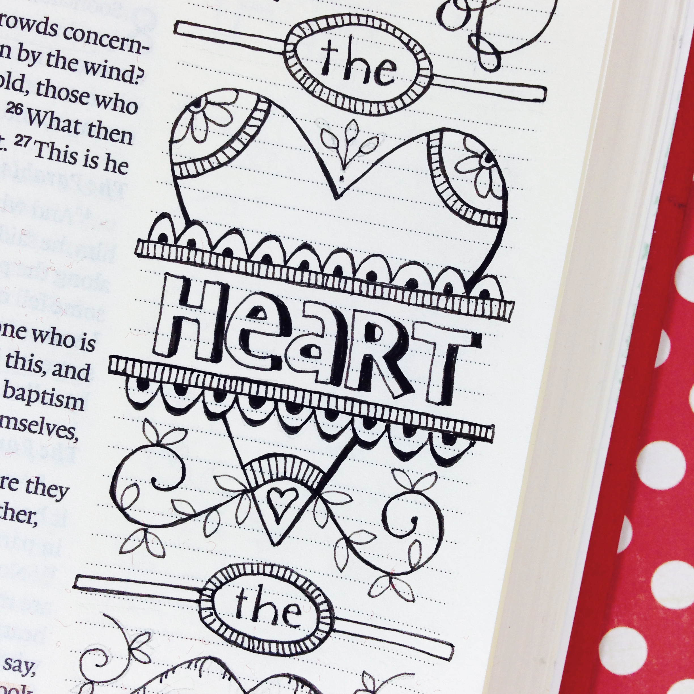 Karla's Korner: Bible Journaling