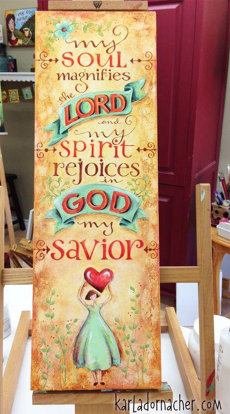 Magnify the Lord - Karla Dornacher