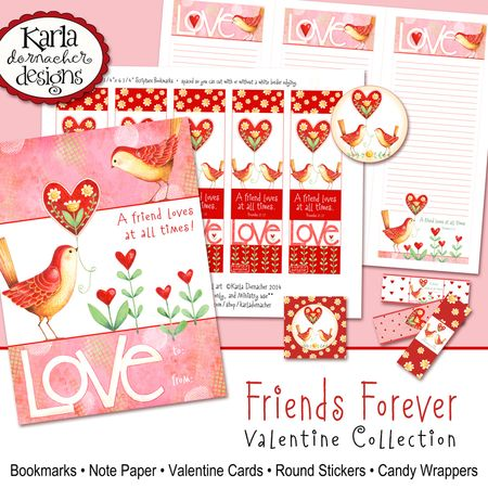 Friends Forever Valentines 01