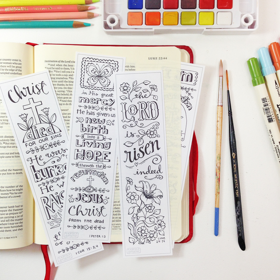 CYO Bible Journal Bookmarks