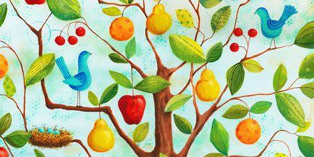 Psalm 1 Birds and Nest