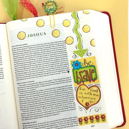 Word Art Bible Journal Pg 5