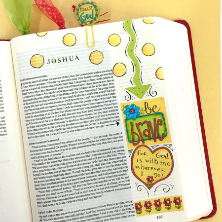 Word Art Bible Journal Pg 5