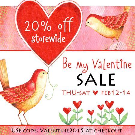 Etsy Valentine Sale 2015 Ad