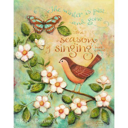 Season of Singing Etsy
