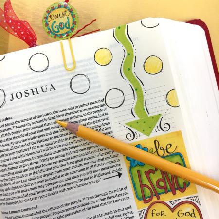 Word Art Bible Journal Pg 3