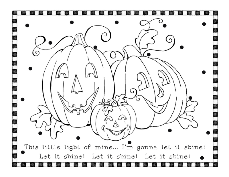 Free Pumpkin Coloring Pages for Kids | 618x800